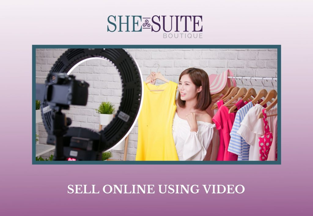 sell online using video