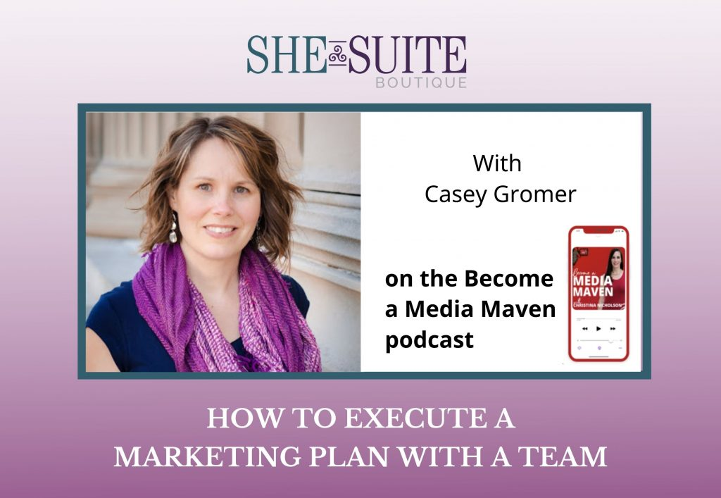 execute a marketing plan