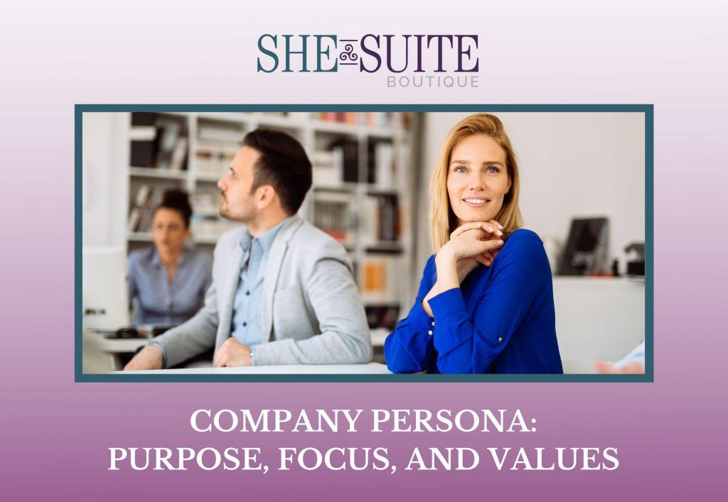 company persona